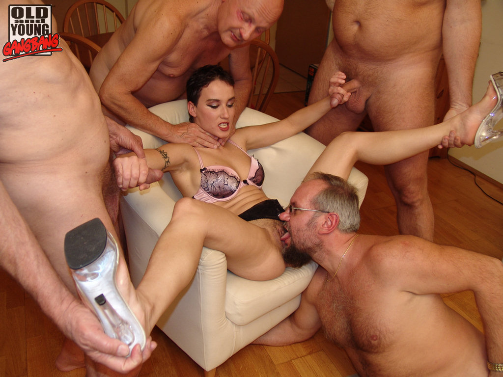 LEGSS!!!! Gangbang fresh pussy her