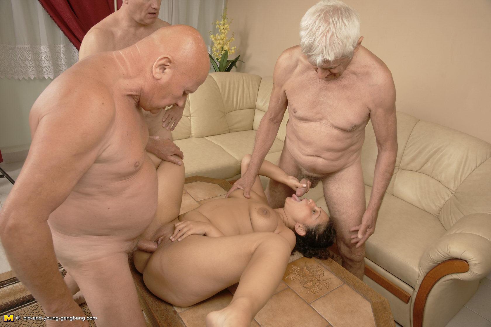 Старые пенсионеры трахают молодых порно фото 228-185